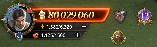 Lord niveau 59 avec 80 029 060 de prestige