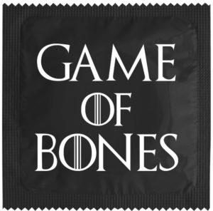 Préservatif Game of Bones