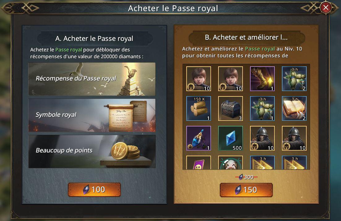 Passe royal