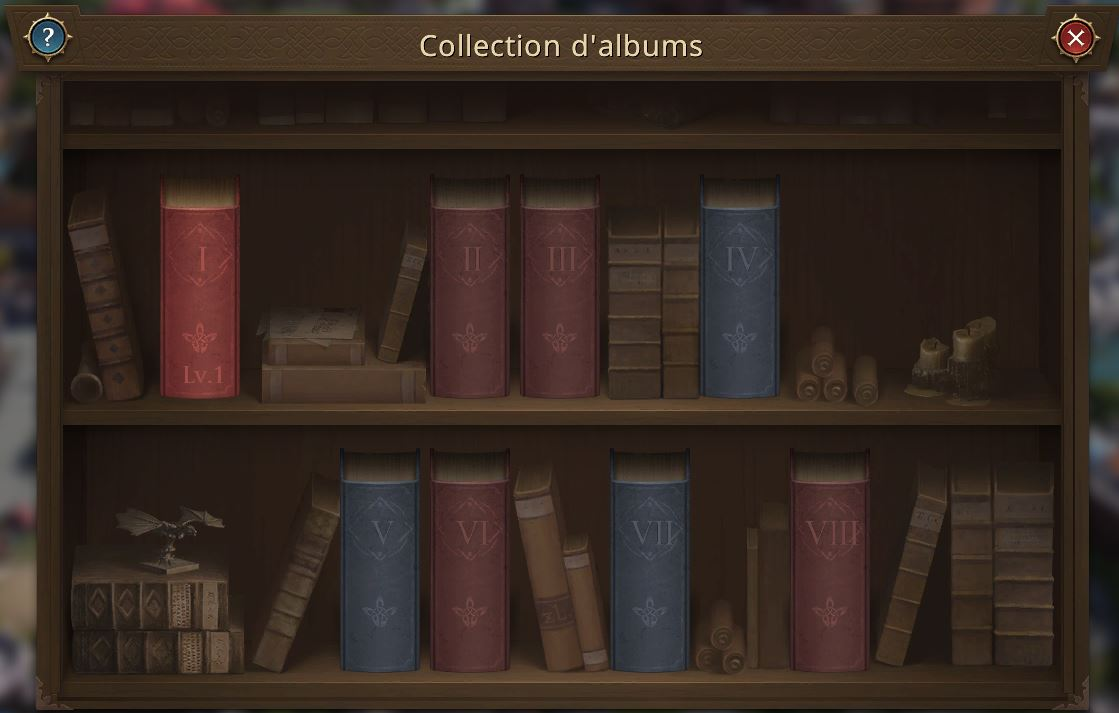 Collection d'albums