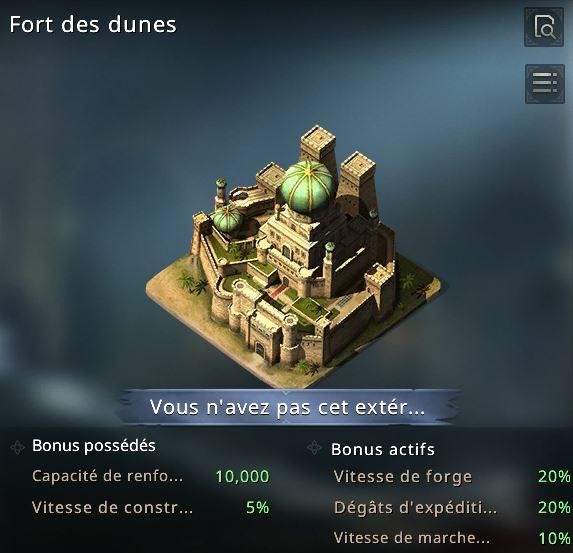 Fort des dunes