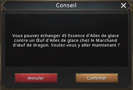 Prérequis 3e dragon