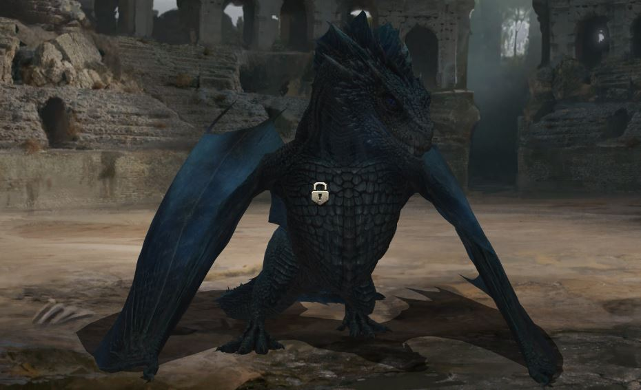 3e dragon verrouillé