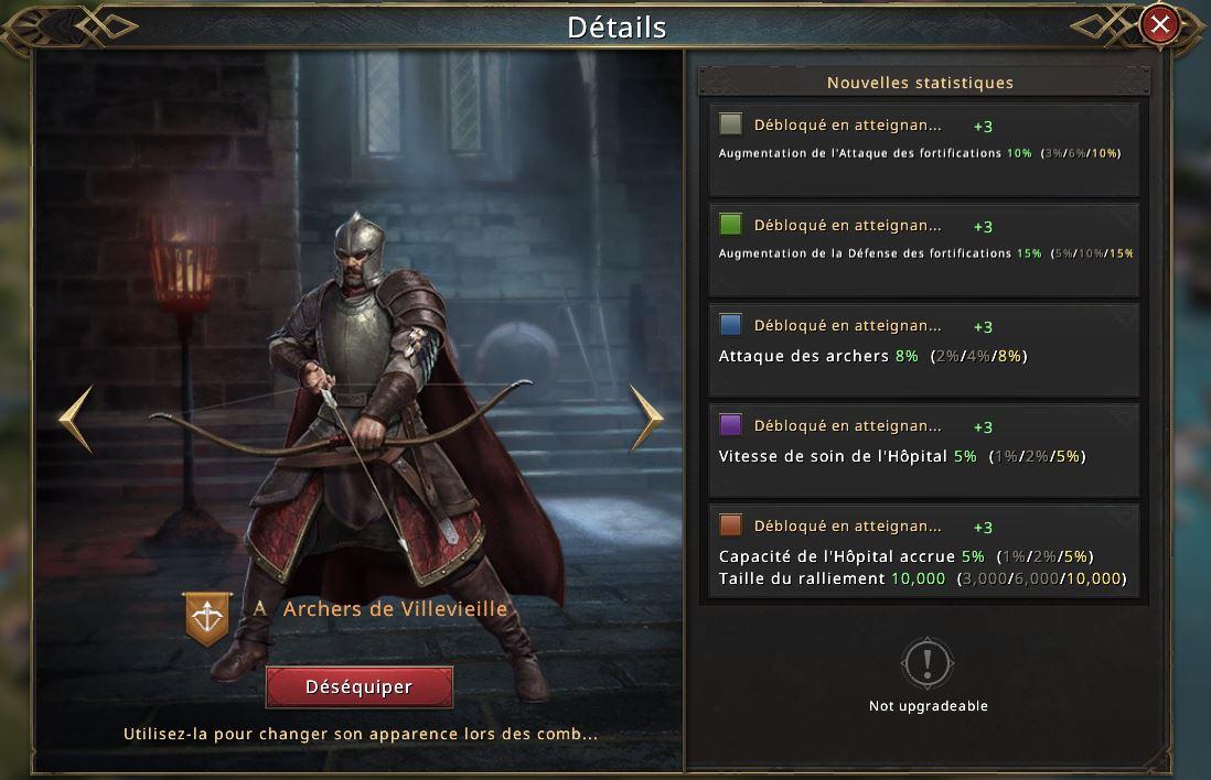 Apparence d'archers de Villevielle