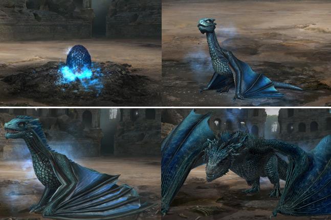 Etapes de développement du 3e dragon