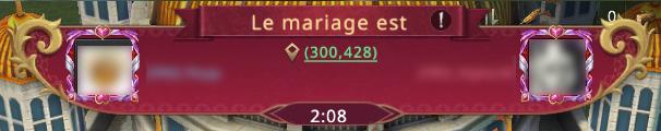 Mariage terminé