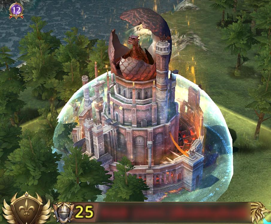 Extérieur de château