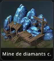 Mine de diamants camouflée