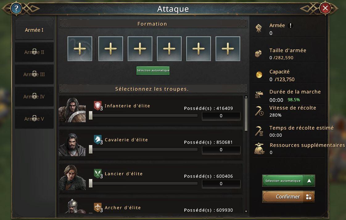 Nouvelle colonne dans écran attaquee