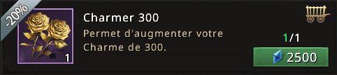 Objet 300 points de charme