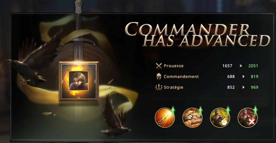 Commandant Arslan cadre or