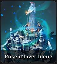 Extérieur de Château Rose d'Hiver bleue