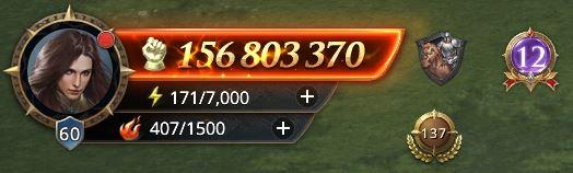 Lord niveau 60 avec 156803370 de prestige