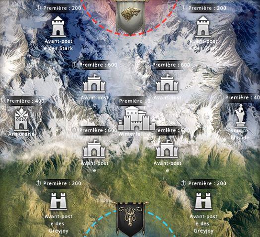 Carte de l'événement