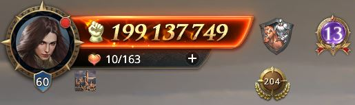 Lord niveau 60 avec 199 137 749 de prestige
