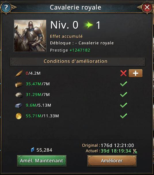 Recherche cavalerie royale