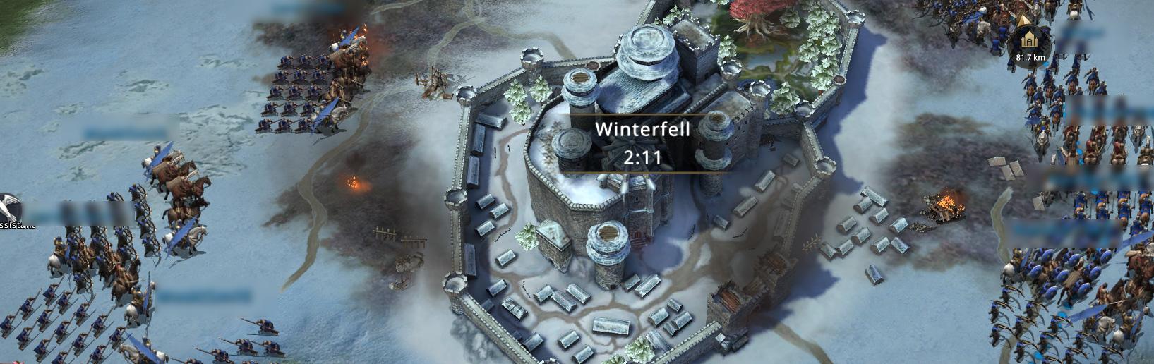 Armée autour de Winterfell