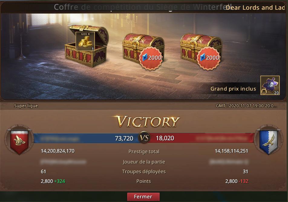 Victoire au Siège de Winterfell