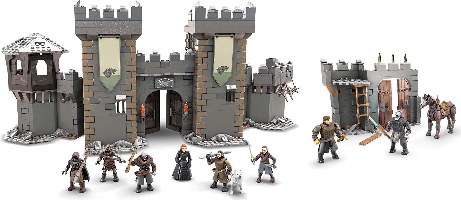 Jeu de construction bataille de Winterfell