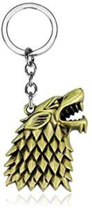 Porte-clé loup Stark