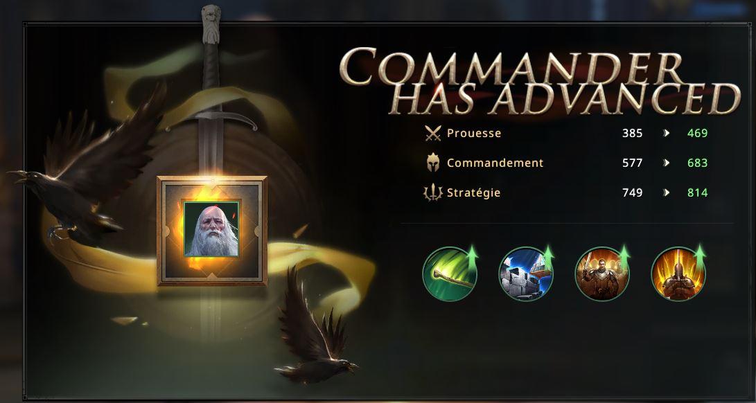 Commandant Simon cadre vert