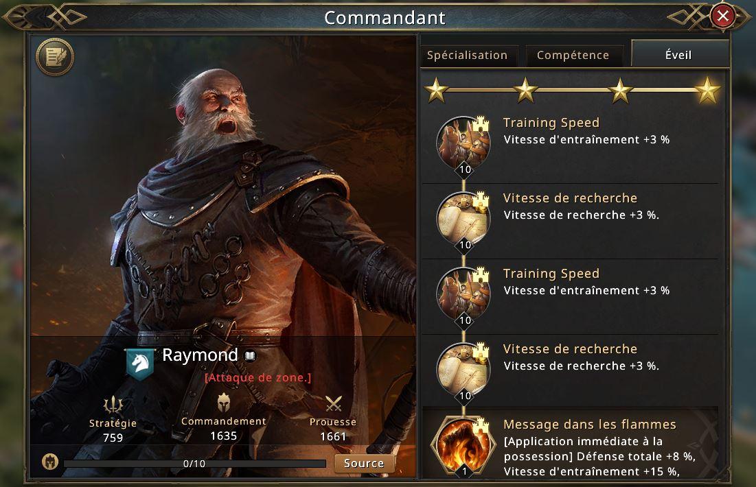 Eveil de Raymond