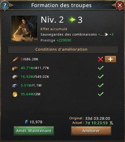 Recherche formation de troupes vers 3