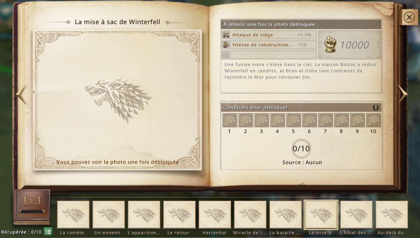 Album 2 - Photo 8 - La mise à sac de Winterfell
