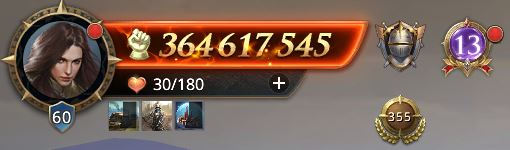 Lord niveau 60 avec 364 617 545 de prestige