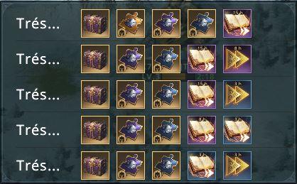 Récompenses chasseur de trésor