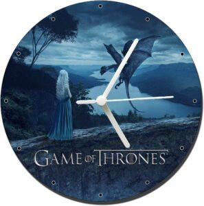 Pendule Daenerys Targaryen et son dragon