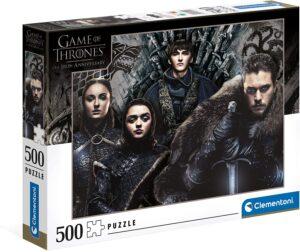Puzzle Arya, Sansa, Bran et Jon Snow