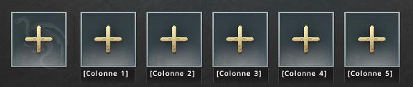 Commandants et colonnes