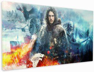 Impression sur toile Game of Thrones