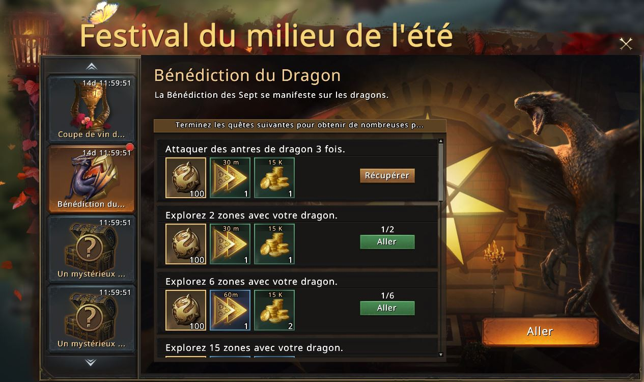 Bénédiction du dragon