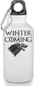 Winter is Coming Game of Thrones Bouteille INOX Gourde Sport Camping